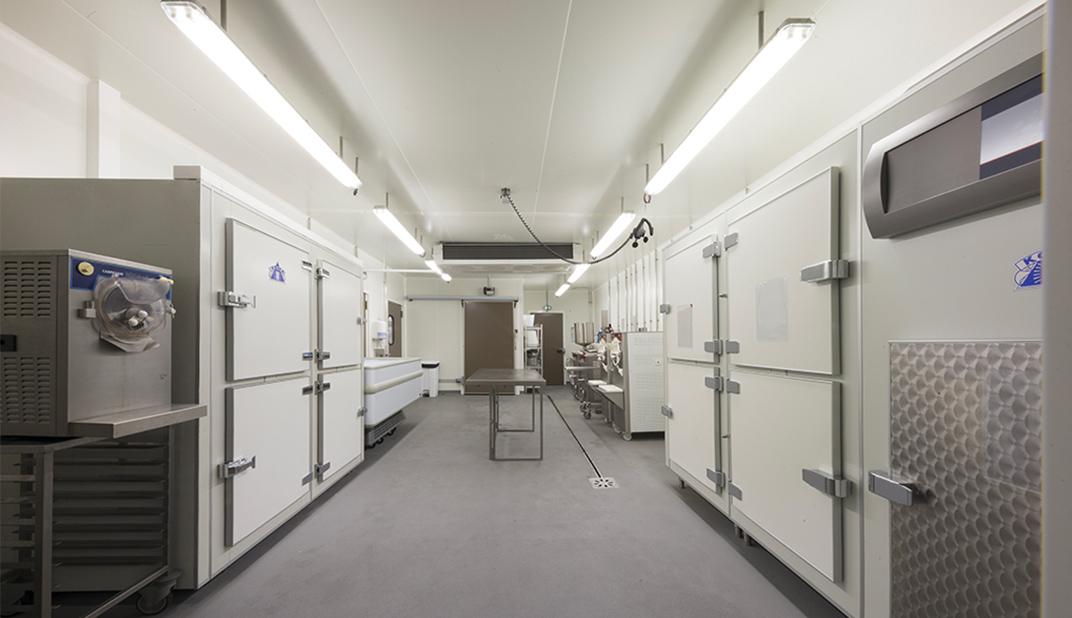 laboratoire glacerie