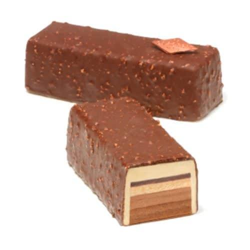 Cake glacé amande et chocolat